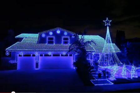 decoration de noel led Une décoration de noël à 56 100 LED decoration de noel led