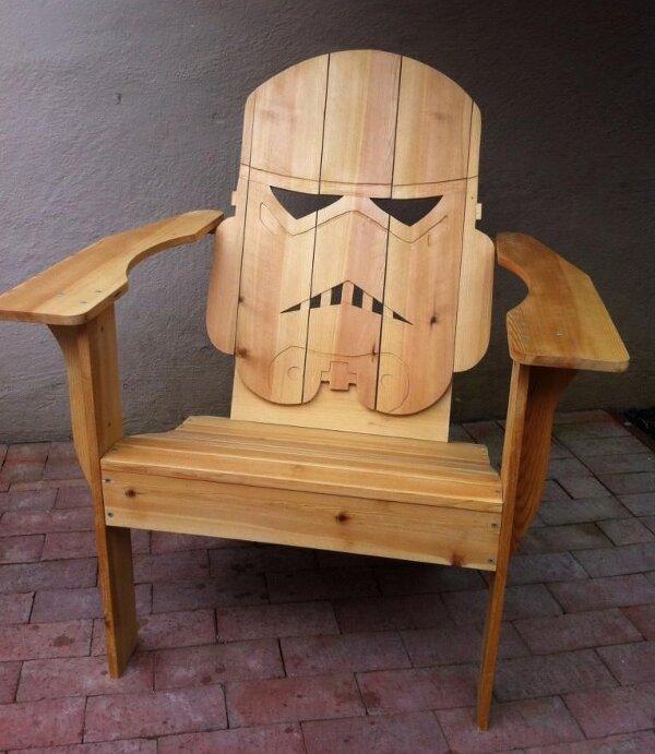 la chaise stormtrooper