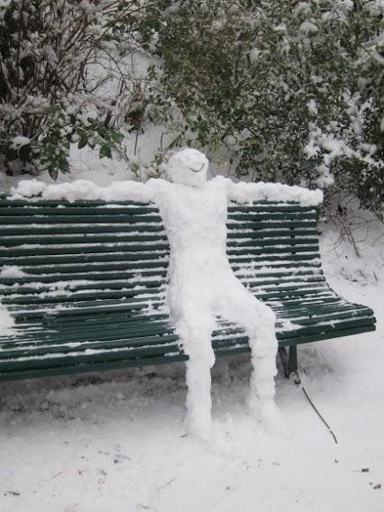 bonhomme de neige relax