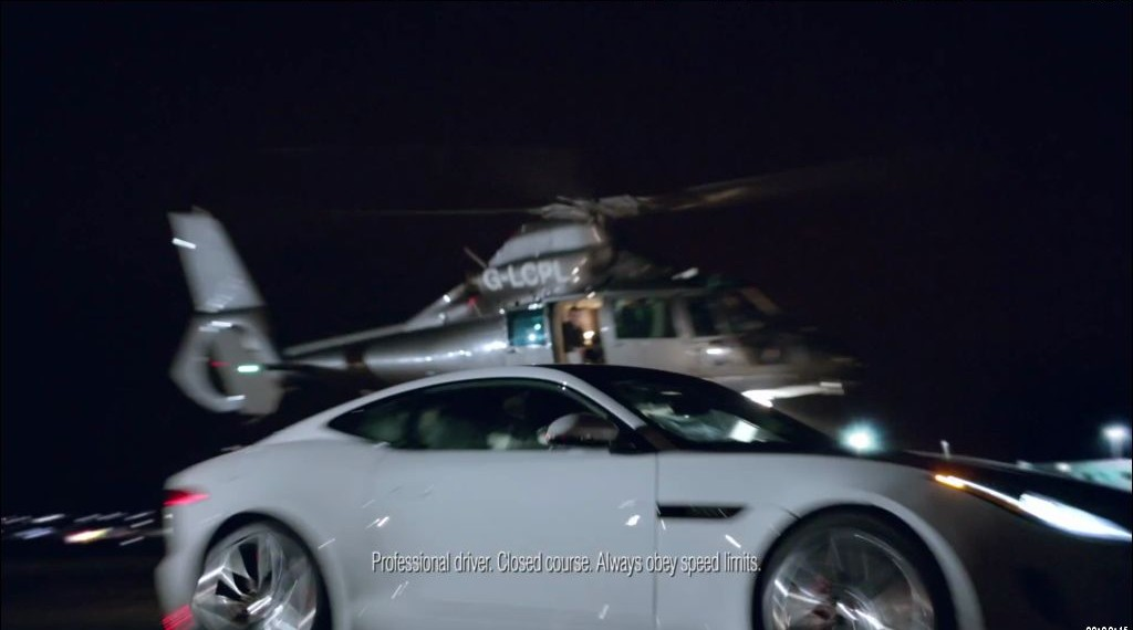 Jaguar publicité au Super Bowl 48