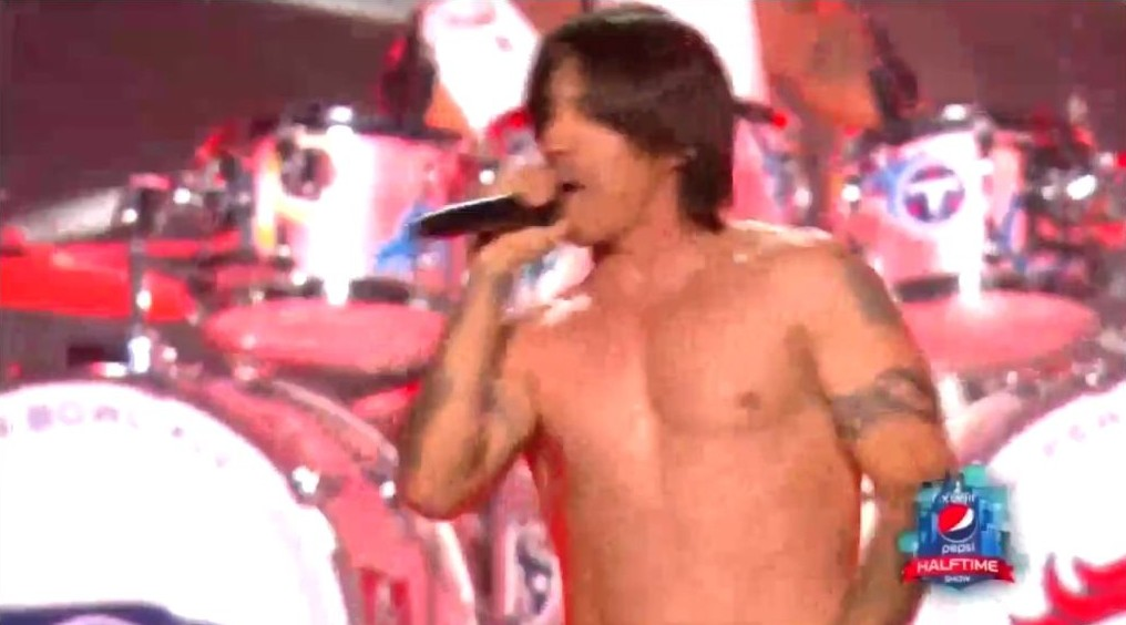 le show musical de bruno mars et des red hot chili peppers